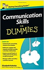 Communication Skills for Dummies (Paperback, UK)