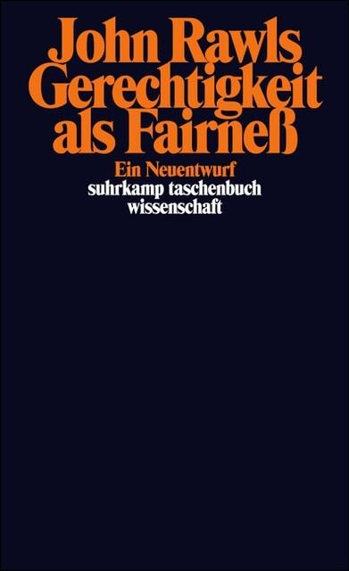 Gerechtigkeit als Fairneß (Paperback)
