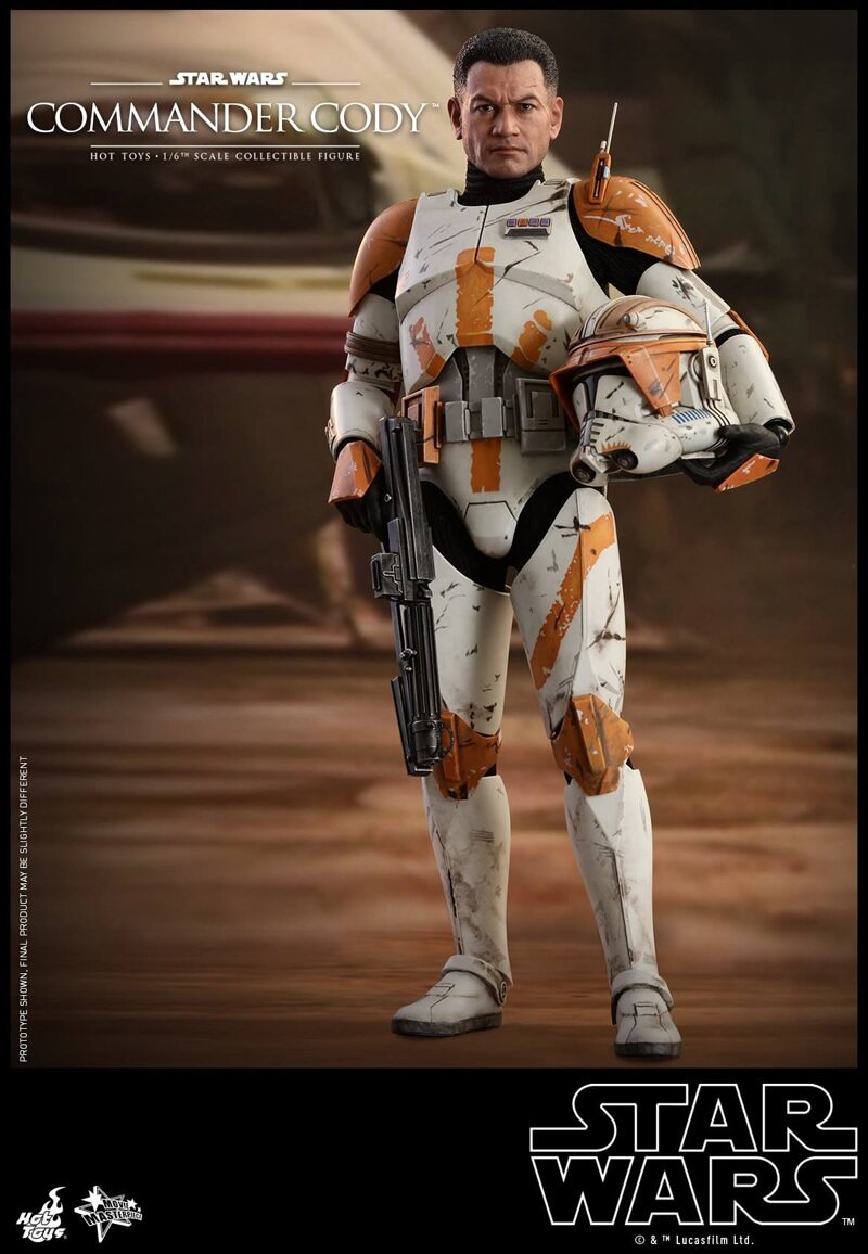 [Hot Toys] 스타워즈 에피소드3 :시스의 복수 클론 커맨더 코디 MMS524 - 1/6th scale Commander Cody Collectible Figure