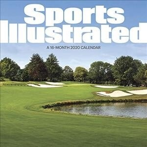 Cal-2020 Sports Illustrated Golf Courses Wall (Wall)