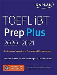 TOEFL IBT Prep Plus 2020-2021: 4 Practice Tests + Proven Strategies + Online + Audio (Paperback)
