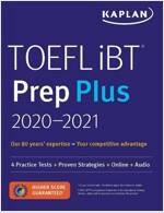 TOEFL IBT Prep Plus 2020-2021: 4 Practice Tests ] Proven Strategies + Online + Audio (Paperback)