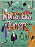 Atlas of Monsters & Ghosts (Hardcover)
