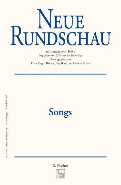 Songs (Paperback)
