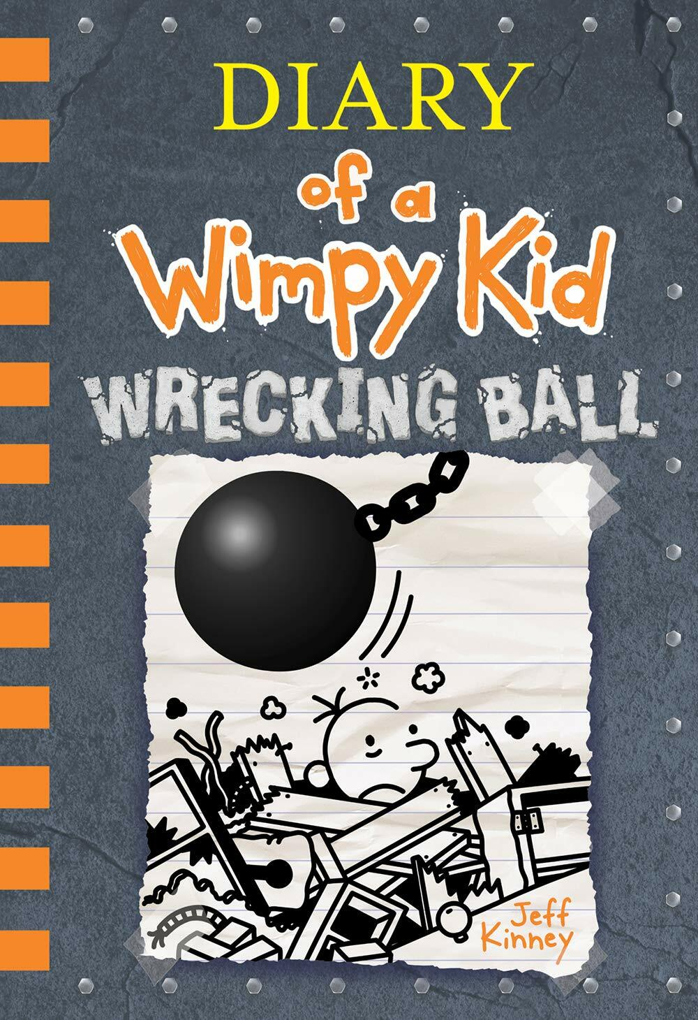 Diary of a Wimpy Kid #14 : Wrecking Ball (Hardcover)