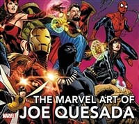 The Marvel Art of Joe Quesada - Expanded Edition (Hardcover)