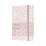 SAKURA POCKET HARD RULED NOTEBOOK WHITE (Hardcover)