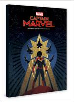마블 스튜디오 캡틴 마블 아트 포스터 컬렉션