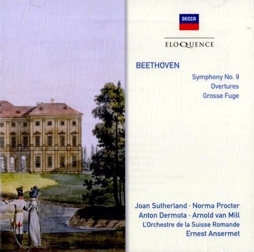 [수입] 베토벤 : 교향곡 제 9번 외 [2CD]
