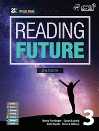 Reading Future Change 3 (Studentbook + CD, New)