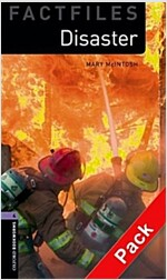 Oxford Bookworms Library Factfiles: Level 4:: Disaster! audio CD pack (Package)