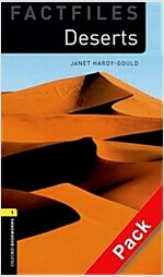 Oxford Bookworms Library Factfiles: Level 1:: Deserts audio CD pack (Package)