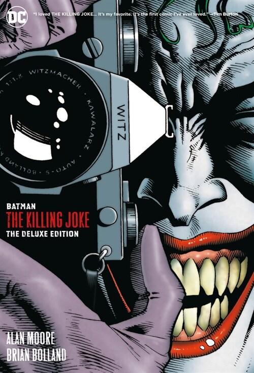Batman: The Killing Joke Deluxe (New Edition) (Hardcover)