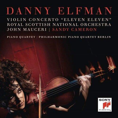 [수입] 대니 엘프만 : 바이올린 협주곡 Eleven Eleven & 피아노 사중주