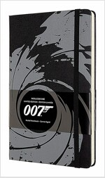 Moleskine Limited Edition Notebook James Bond, Large, Ruled, Black (5 X 8.25) (Other)