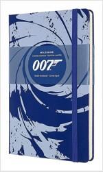 Moleskine Limited Edition Notebook James Bond, Large, Ruled, Blue (5 X 8.25) (Other)
