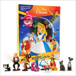 My Busy Book : Disney Classics 디즈니 클래식 이상한 나라의 앨리스, 피터팬, 피노키오, 레이디의 모험 비지북 (미니피규어 12개 + 놀이판)