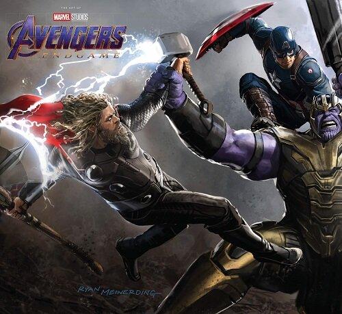 Marvels Avengers: Endgame - The Art of the Movie (Hardcover)