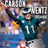 Philadelphia Eagles Carson Wentz: 2020 12x12 Player Wall Calendar (Wall)