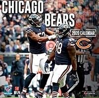 Chicago Bears: 2020 12x12 Team Wall Calendar (Wall)
