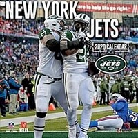 New York Jets: 2020 12x12 Team Wall Calendar (Wall)