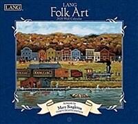 Lang Folk Art: 2020 Wall Calendar (Wall)