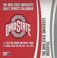 Ohio State Buckeyes: 2020 Box Calendar (Daily)