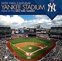 New York Yankees Yankee Stadium: 2020 12x12 Stadium Wall Calendar (Wall)