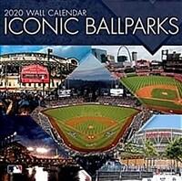 Mlb Iconic Ballparks: 2020 12x12 Stadium Wall Calendar (Wall)
