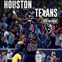 Houston Texans: 2020 12x12 Team Wall Calendar (Wall)