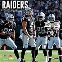 Raiders: 2020 12x12 Team Wall Calendar (Wall)