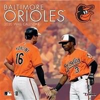 Baltimore Orioles: 2020 12x12 Team Wall Calendar (Wall)