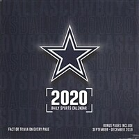 Dallas Cowboys: 2020 Box Calendar (Daily)