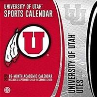 Utah Utes: 2020 12x12 Team Wall Calendar (Wall)