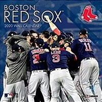 Boston Red Sox: 2020 12x12 Team Wall Calendar (Wall)