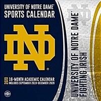 Notre Dame Fighting Irish: 2020 12x12 Team Wall Calendar (Wall)