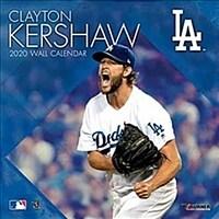 Los Angeles Dodgers Clayton Kershaw: 2020 12x12 Player Wall Calendar (Wall)