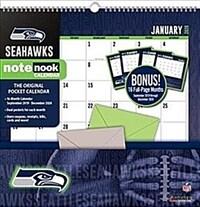 Seattle Seahawks: 16 Month Sports Notenooks (Wall)