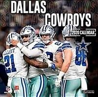 Dallas Cowboys: 2020 12x12 Team Wall Calendar (Wall)