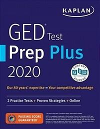 GED Test Prep Plus 2020: 2 Practice Tests + Proven Strategies + Online (Paperback, Revised, Revise)