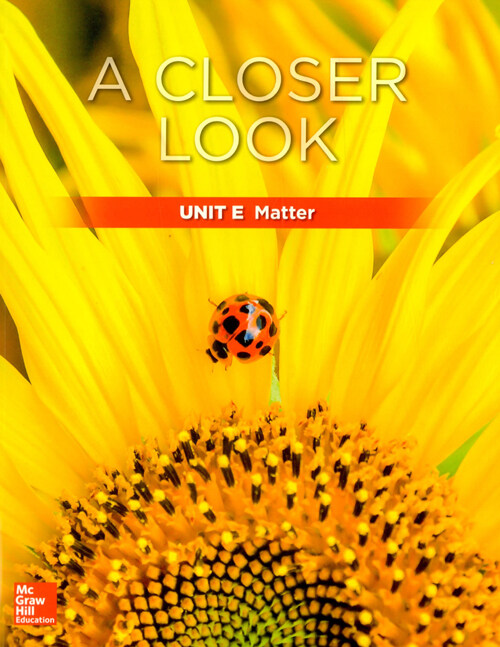 Science A Closer Look Grade 1 : Unit E (Student Book + Workbook + Assessment + Audio CD, 2018 New Edition)