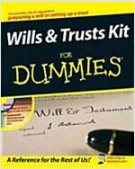 Wills and Trusts Kit for Dummies [With CDROM] (Hardcover)