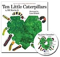 노부영 Ten Little Caterpillars (원서 & CD) (Hardcover)