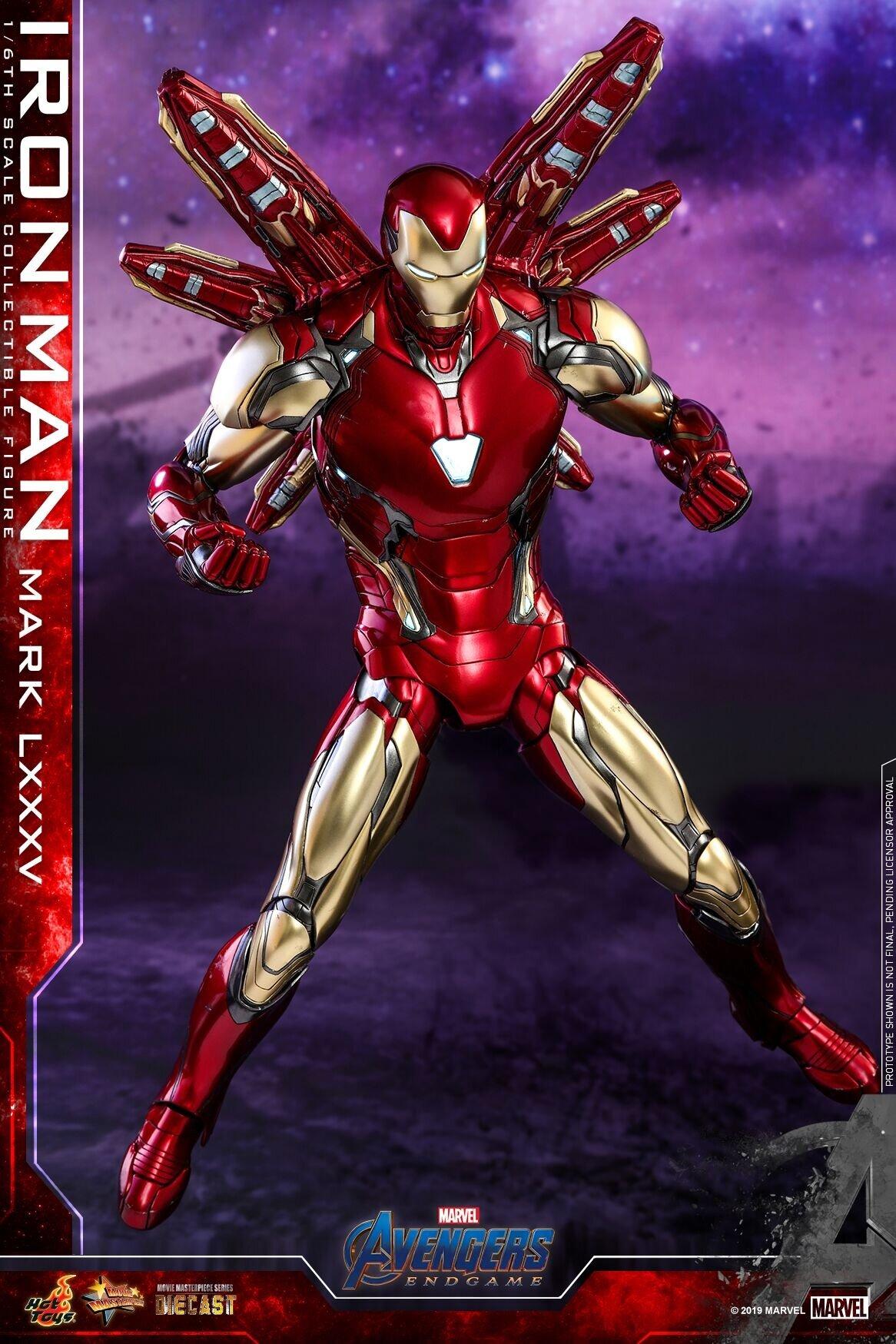 [Hot Toys] 어벤져스 : 엔드게임 아이언맨 마크85 다이캐스트 MMS528D30 - 1/6th scale Iron Man Mark LXXXV Collectible Figure
