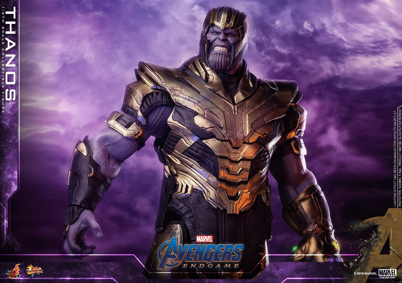 [Hot Toys] 어벤져스 : 엔드게임 타노스 MMS529 - 1/6th scale Thanos Collectible Figure Collectible Figure