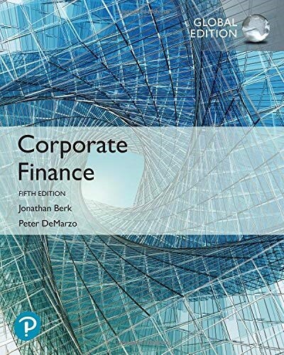 Corporate Finance, Global Edition (Paperback, 5 ed)