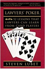 Lawyers' Poker : 52 Lessons that Lawyers Can Learn from Card Players (Paperback)