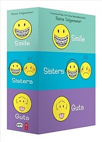 Smile, Sisters, and Guts: The Box Set (Paperback 3권, Full Color)