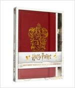 Harry Potter: Gryffindor Hardcover Journal and Elder Wand Pen Set (Hardcover)