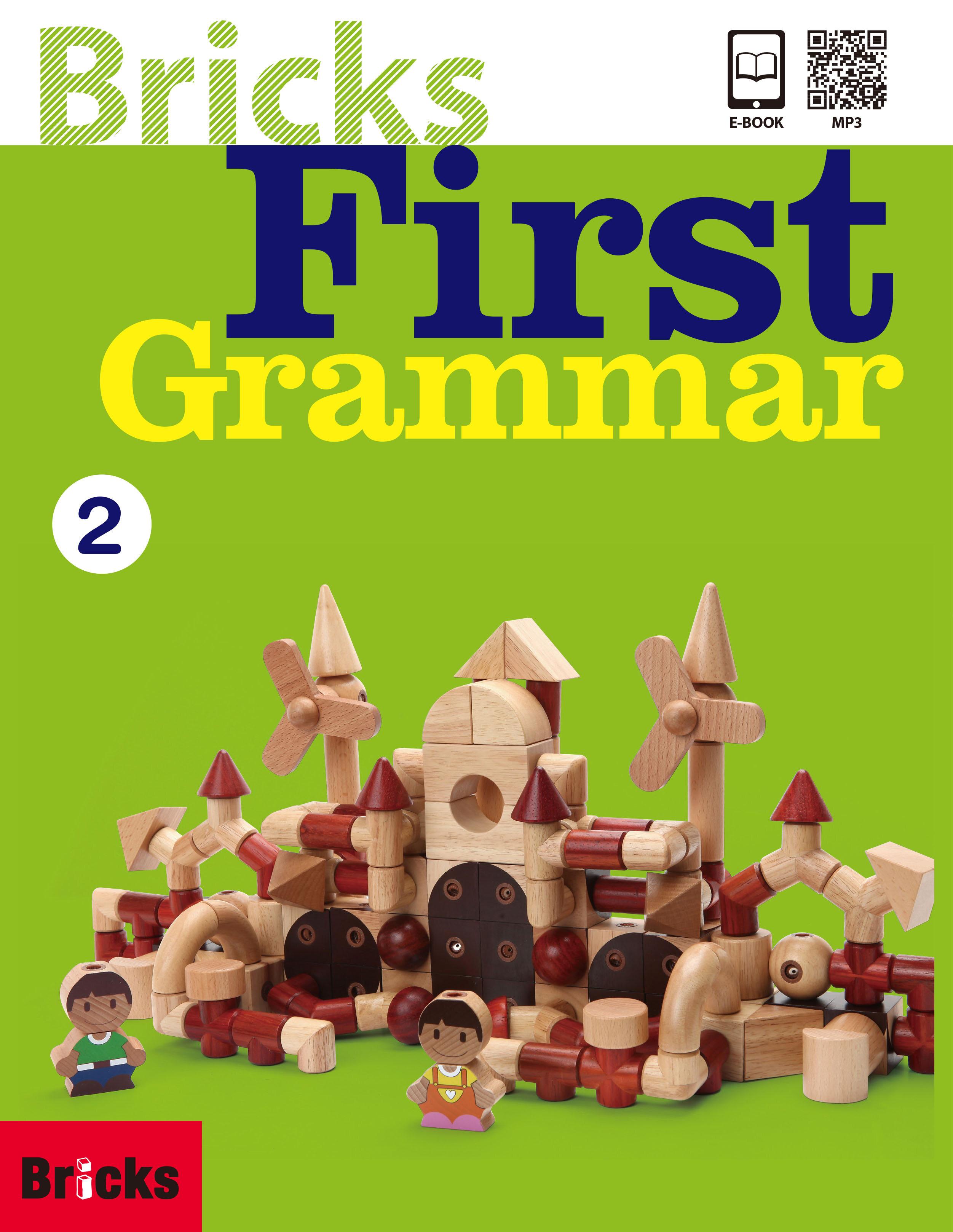 Bricks First Grammar 2 (Student Book + Work Book + QR + Ebook Code)